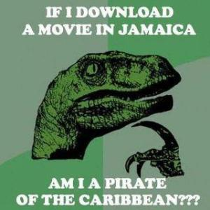 Downloading in the Caribbean