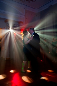 The Bride and Groom in their First Dance