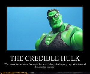The Credible Hulk - Because He Cites His Sources