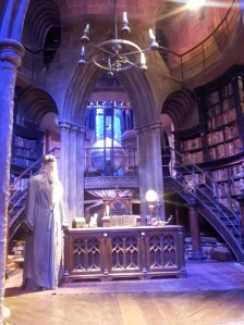 Set of Dumbledore's Study from the Harry Potter films
