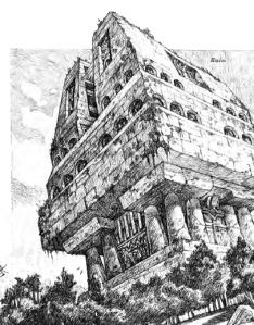 giant ruins