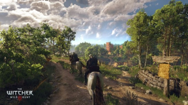 The Witcher 3: Wild Hunt - the armour for this horse is free