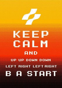 Keep Calm and Use the Konami Code