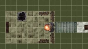 Floorplan of the Workshop/Vault in the Forge cavern