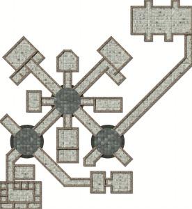 Floorplan to the Whitehearth Facility