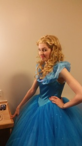 Lady P went to the Ball after all as Cinderella